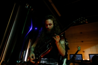 Jordan playing with Feral in June.