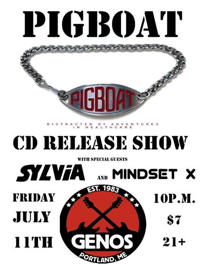 Pigboat, Sylvia and Mindset X