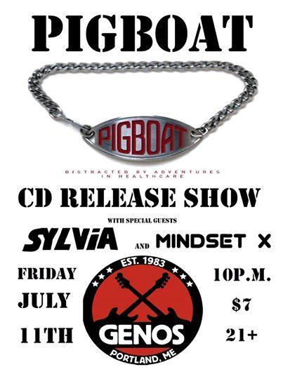 Pigboat, Sylvia and Mindset X