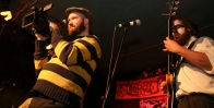 Covered in Bees' video shoot for Troma