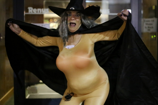 Flasher witch.