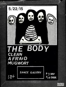 Next Friday at SPACE Gallery.